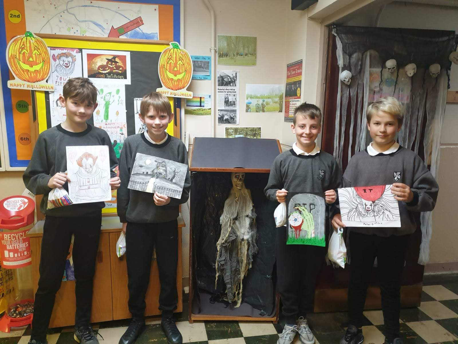 Halloween Art Competition Winners 2019